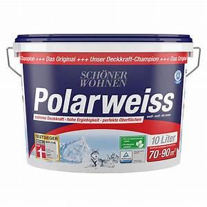 Schöner Wohnen Polarweiss : sch ner wohnen polarwei wei 10 l matt bauhaus ~ Watch28wear.com Haus und Dekorationen