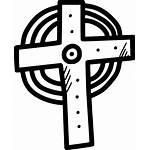 Cross Jesus Svg Icon Holy Christian Christ