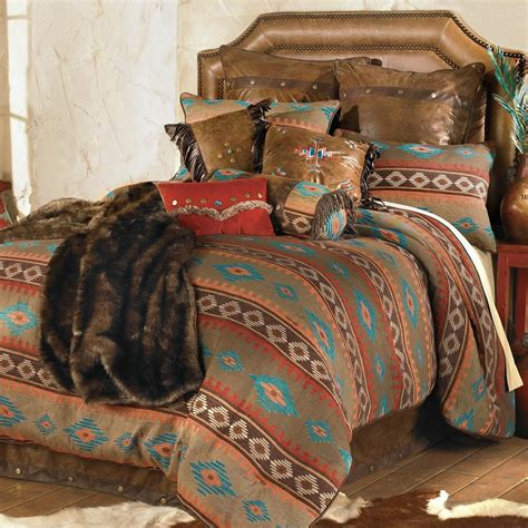 western bedding king size canyon shadows bed setlone