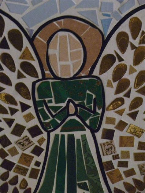 angel mosaic     piece  mosaic art art