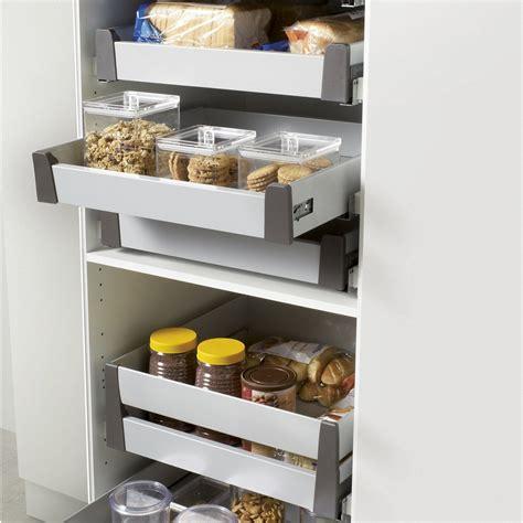 tiroir coulissant pour cuisine tiroir à l 39 anglaise simple hauteur pour meuble l 60 cm delinia leroy merlin