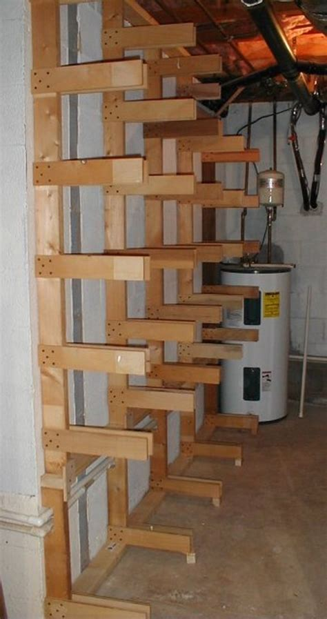 build  easy portable lumber rack diy projects