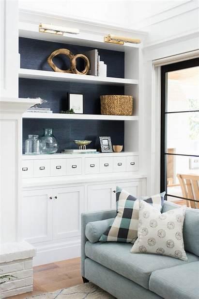 Mcgee Studio Built Shelves Ins Kitchen Bookshelf