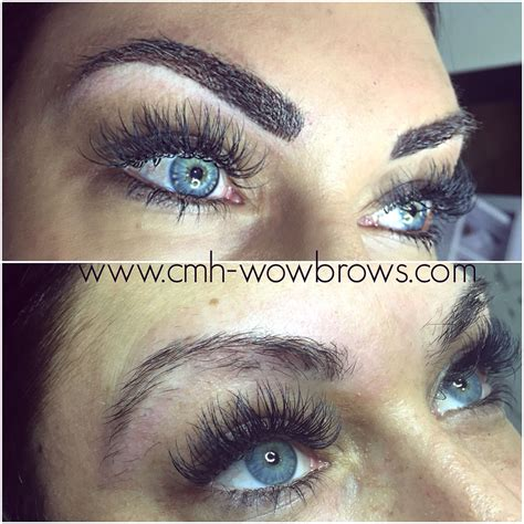 microblading feathering feather touch brows