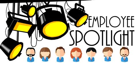 Image result for employees spotlight clipart
