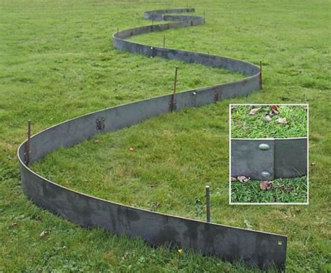 Metal Garden Edging Ideas 17 best ideas about steel landscape edging on