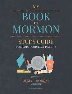 Book Of Mormon Study Guide Diagrams Doodles Insights