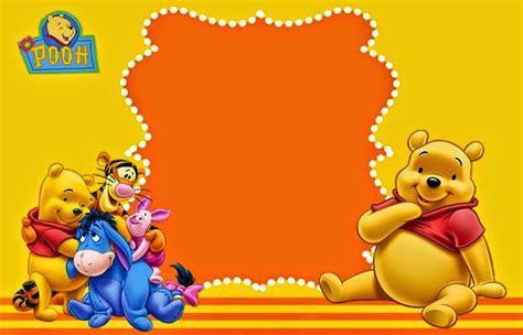 Winnie The Pooh Templates by Winnie The Pooh Birthday Invitation Templates Free