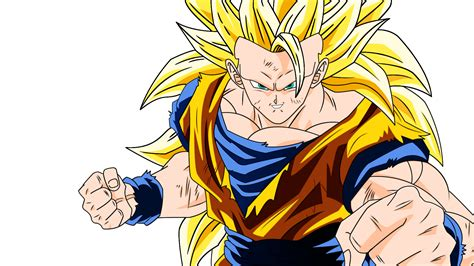 Goku Ssj3 Render By Desertwiggle On Deviantart