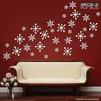 perfect christmas wall decals Christmas Wall Decorations Ideas To Deck Your Walls ...