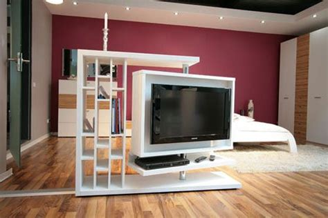 A Wonderful Tv Unit That Works Like A Space Divider This