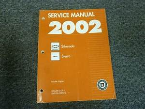 2002 Gmc Sierra 1500 2500 3500 Truck Engine Service Repair Manual Sl Slt Denali