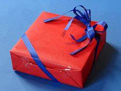 Geschenke Richtig Verpacken : ein geschenk verpacken mit doppelschleife basteln gestalten ~ Markanthonyermac.com Haus und Dekorationen