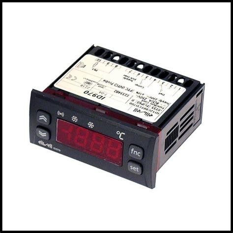 thermostat chambre froide thermostat régulateur électronique 2 relais eliwell id970 12 v