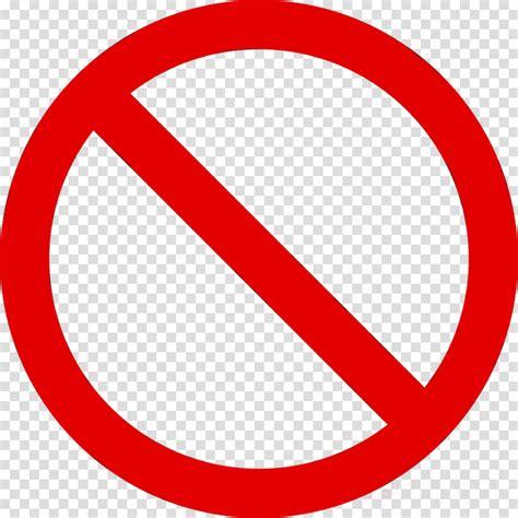 No Symbol Clipart Sign Line Circle Transparent Clip Art