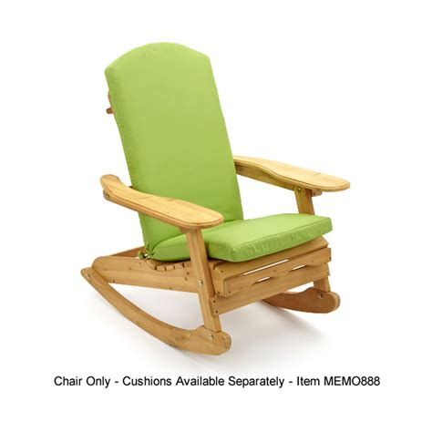trueshopping bowland adirondack wooden rocking chair for garden or patio ebay