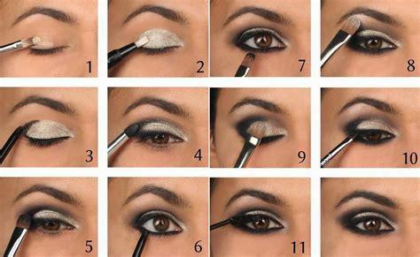 Smokey Eye Makeup Tutorial for Brown Eyes Olive Skin