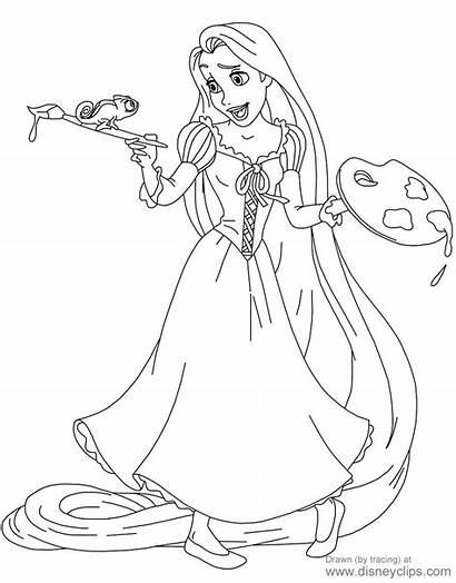 Rapunzel Coloring