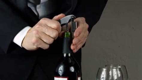 How To Open A Bottle Of Wine  Wine Corkscrew