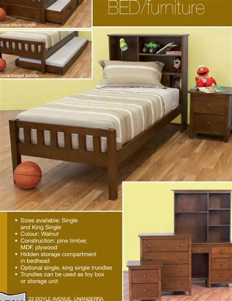 trundle beds with storage king single bed with storage plus trundle new 17585