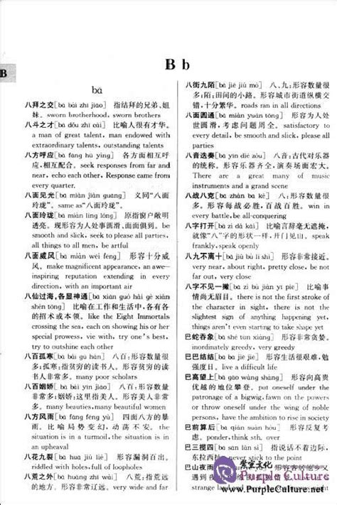 A Chinese English Dictionary of Chinese Idioms and Phrases