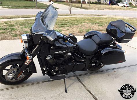 Motorcycle Saddlebags. Leather And Hard Saddlebags