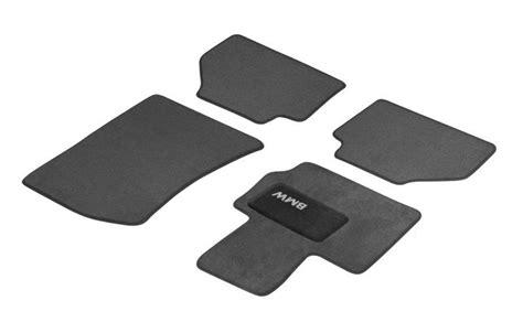 bmw floor mats x3 bmw tailored velour floor mats heel pads black f25 x3 51472181175 ebay