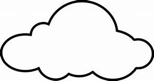 White Cloud Clip Art at Clker.com - vector clip art online ...