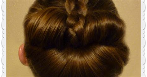 braided bow fan bun easy messy bun tutorial hairstyles