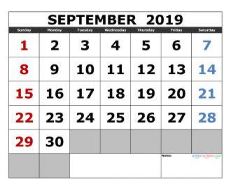 printable august calendar template landscape format