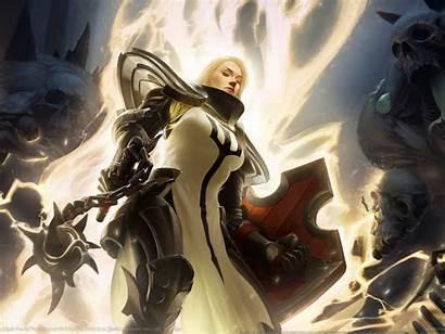 Diablo D3 Crusaders Fantasy Warrior Iii Wallpapers