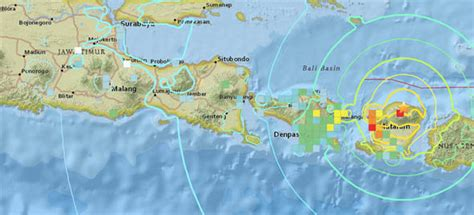 indonesia earthquakes map    trunami warning