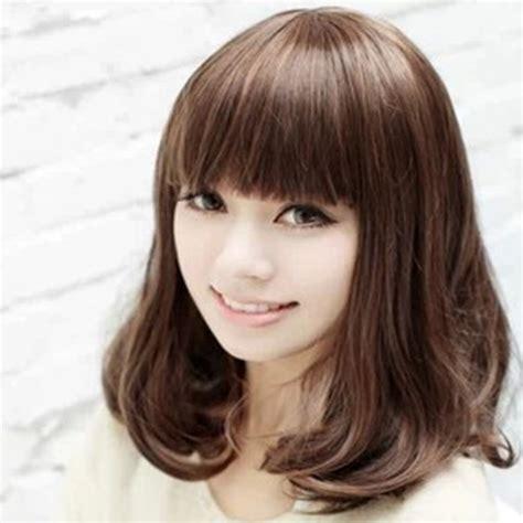 HD wallpapers haircuts with long hair and bangs