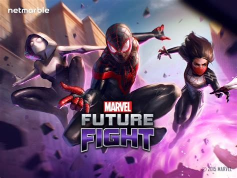 The Spiderman Family Comes To Marvel Future Fight In
