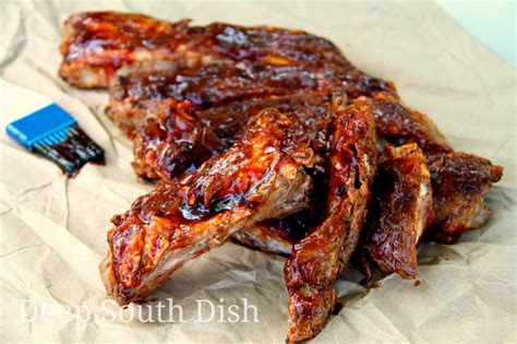 grilled pork ribs deep south dish grilled pork spareribs or baby back ribs