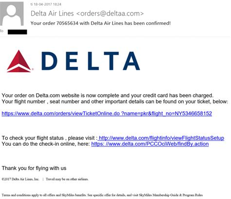 adresse si鑒e air delta air lines phishing scam téléchargements hancitor malware
