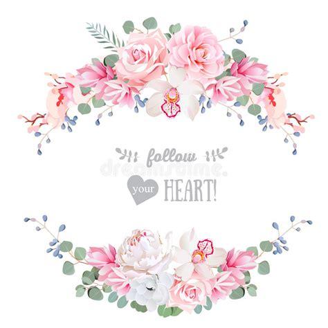 birthday invitation wedding floral vector design frame peony