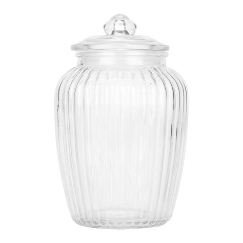 kitchen glass storage jars my home glass jar and lid 4916