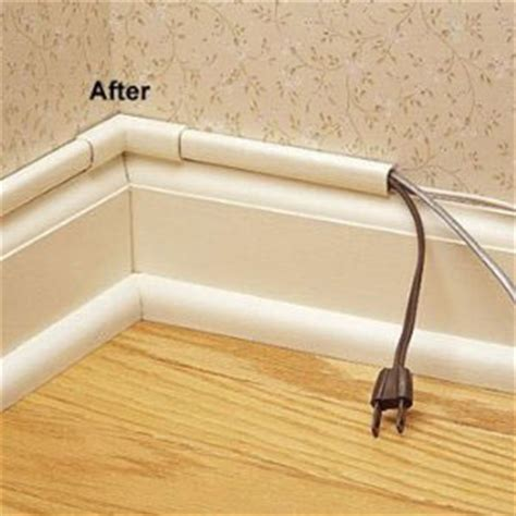power cord hider house cable management help hometheater