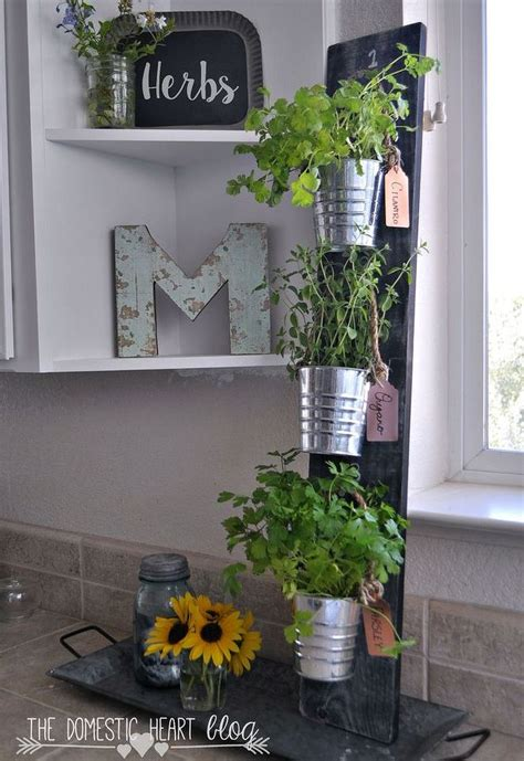 kitchen herb garden design diy simple vertical kitchen herb garden hdgiftchallenge 4935