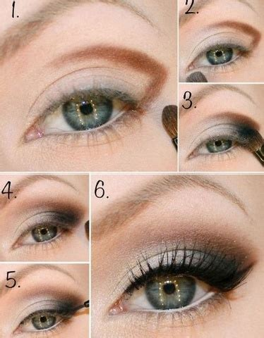 Легкий макияж для карих глаз пошаговая инструкция