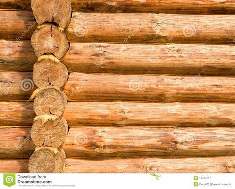 Log Cabin Details Stock Image. Image Of Exterior, Logs