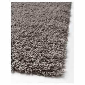 hampen tapis poils hauts gris 160x230 cm ikea With tapis poils hauts