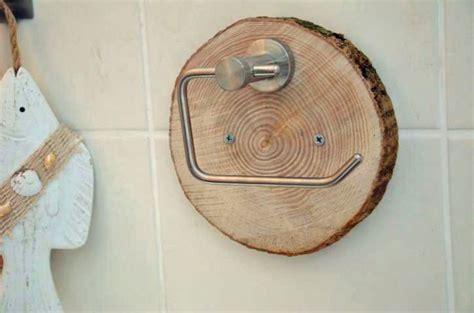 Klopapierhalter Holz Klorollenhalter Von Majalino Auf