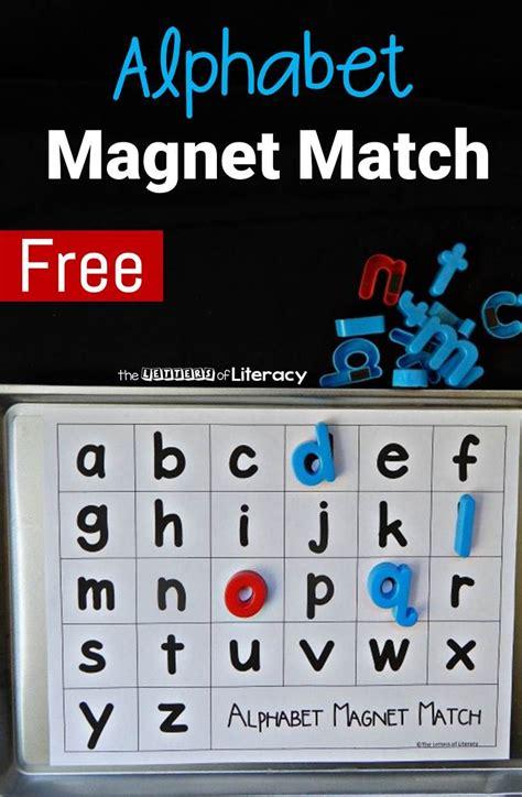 alphabet magnet match kinderland collaborative
