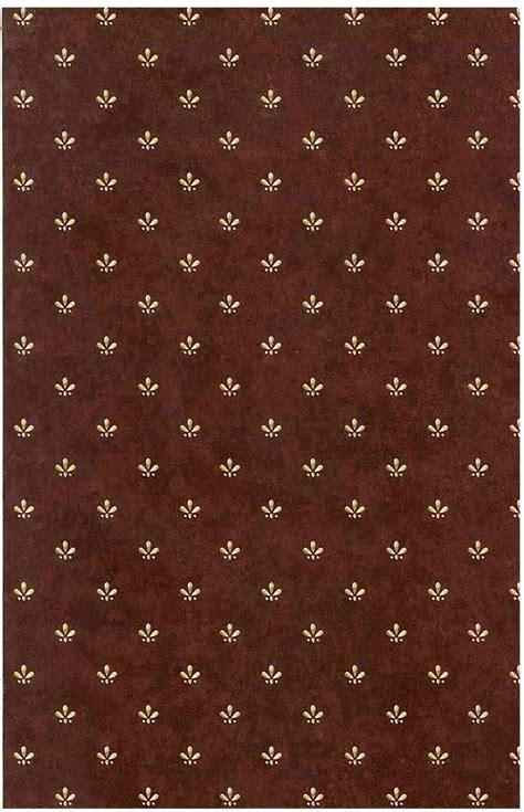 maroon beige vintage wallpaper arts crafts faux finish