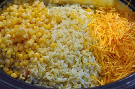 crockpot chicken and rice crock pot cheesy chicken rice food recipes pinterest