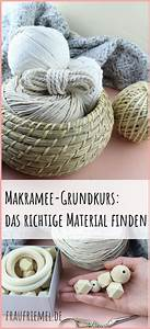 Makramee Blumenampel Kaufen : das richtige makrameematerial finden makramee anleitung ~ A.2002-acura-tl-radio.info Haus und Dekorationen