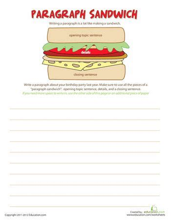 78 best images about paragraph writing on