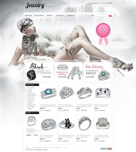 jewelry oscommerce template